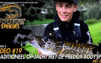 Pike Strikers – Traditioneel op jacht met de Predox Body-Spin